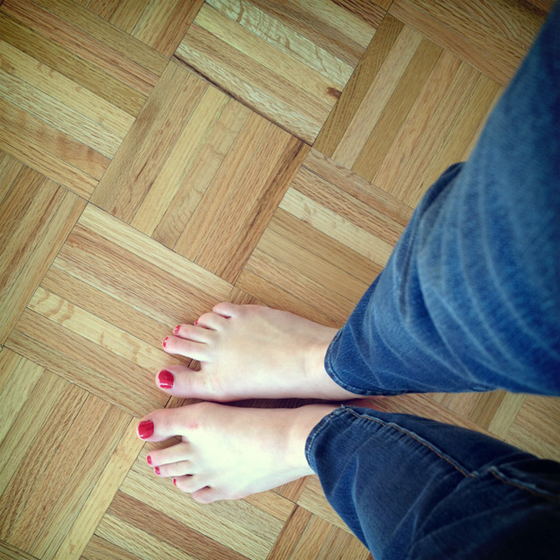 Feet at home