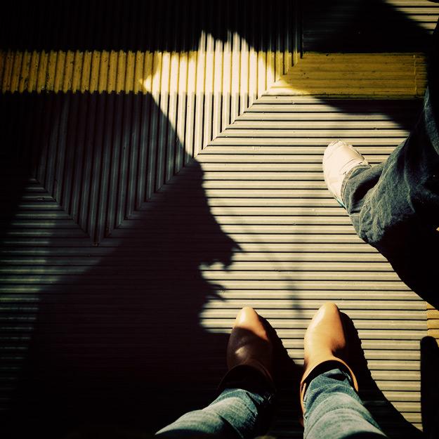 Feet on Muni