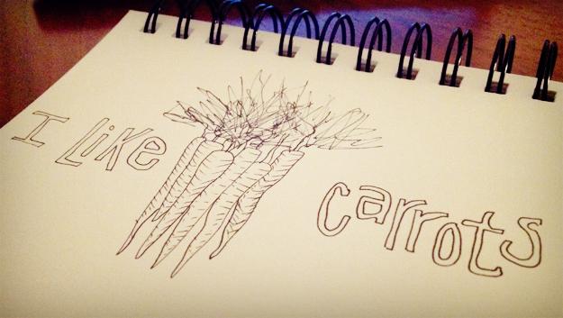 I like carrots
