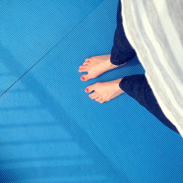 Porch feet
