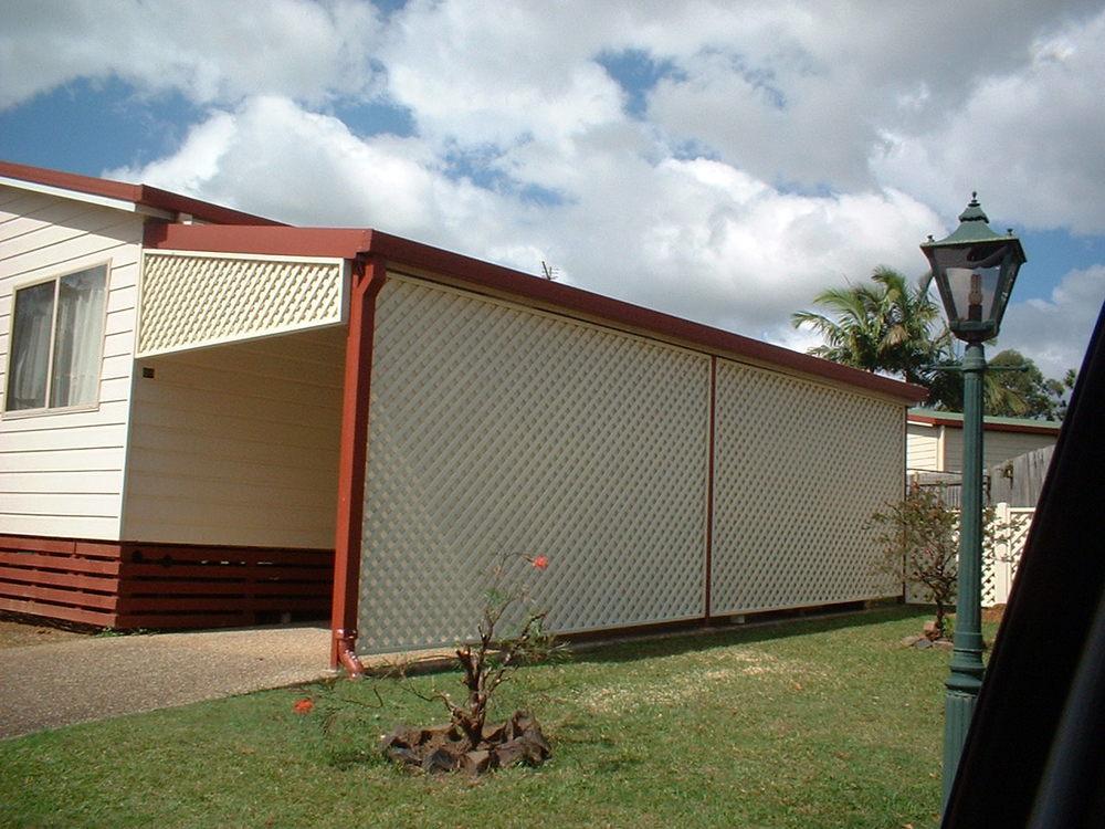 Noosa bamboohome for Trellis carport