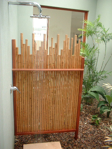 Noosa bamboohome for Stand alone outdoor privacy screen