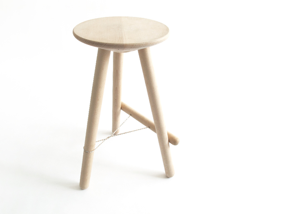 Tubabu stool for Nani Marquina. Photos, drawings and technical solutions by Sergi Vich #tubabu / sergivich.com