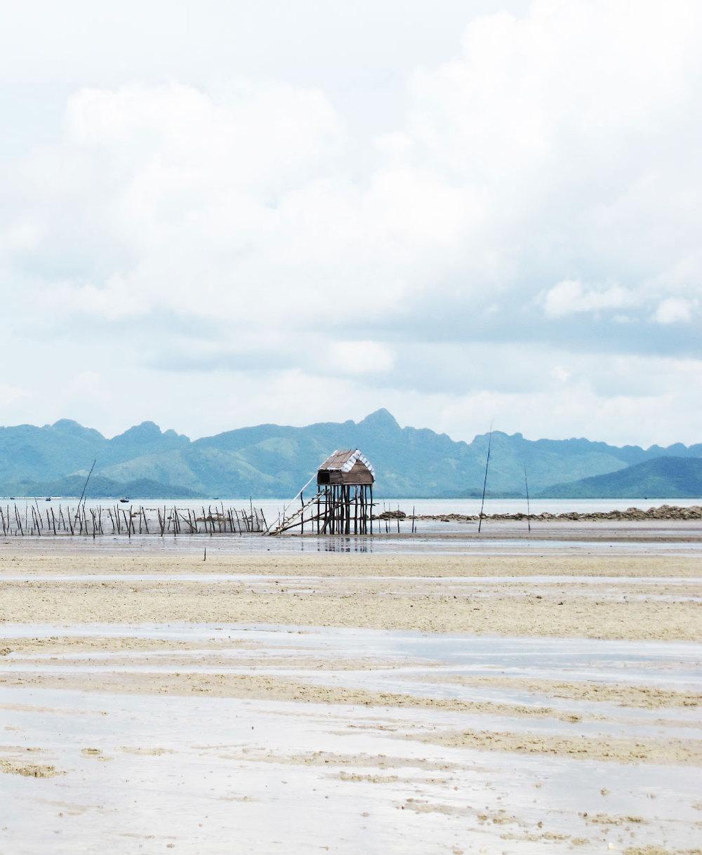 Fish trap on Vietnam island beach #vietnam / sergivich.com