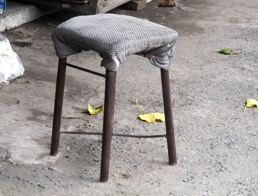 DIY chair from Ho Chi Minh City market #VietnamInObjects/ sergivich.com