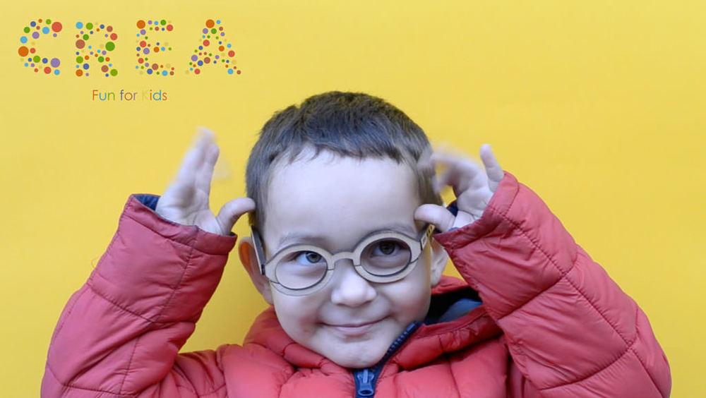 CREA. Kids eyewear, Eva Porcuna, Blanca Roigé, Carlos Salas & Marina Sarto