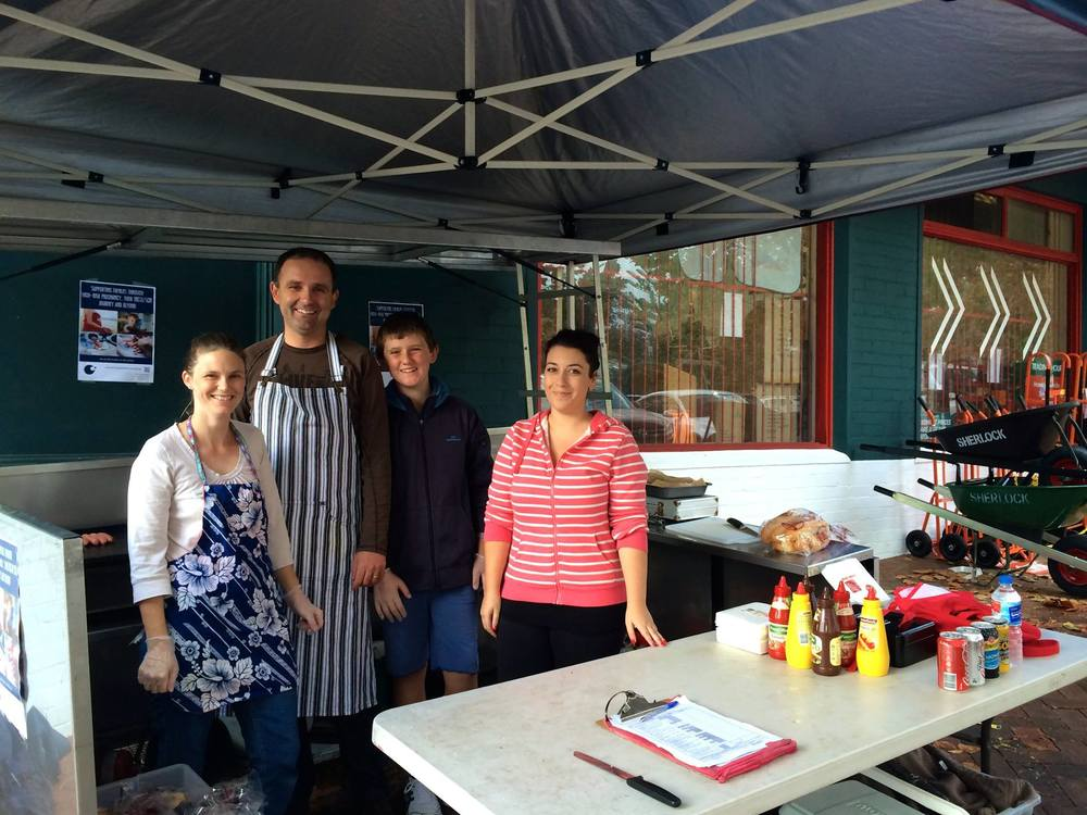 Bunnings Sausage Sizzle - June