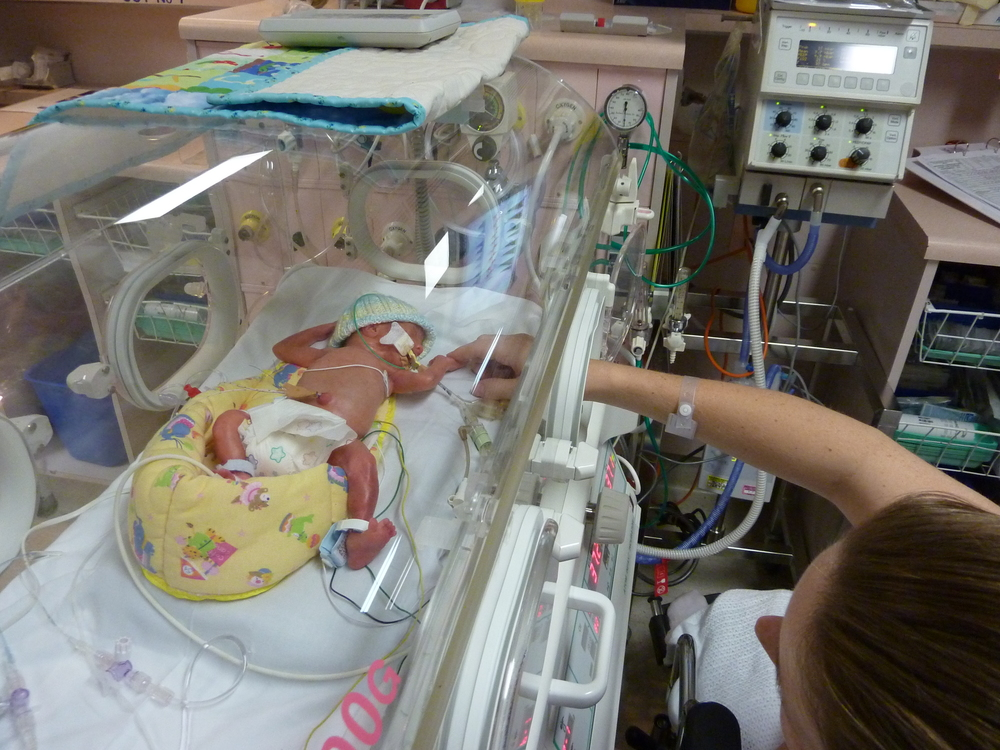 Adison's NICU Journey - Up close and personal
