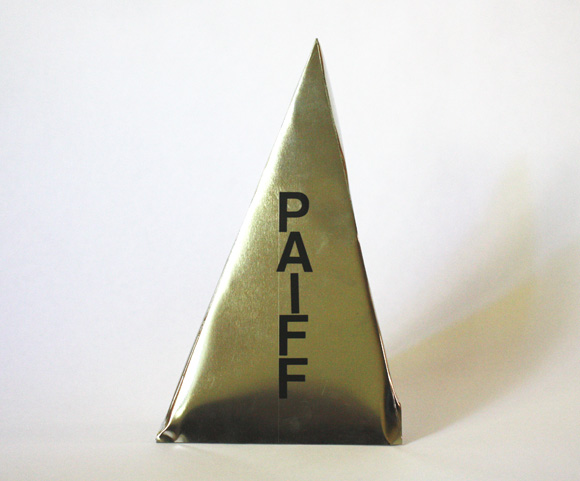 Triangle Award Prototype