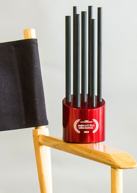 The Award alone on a chair