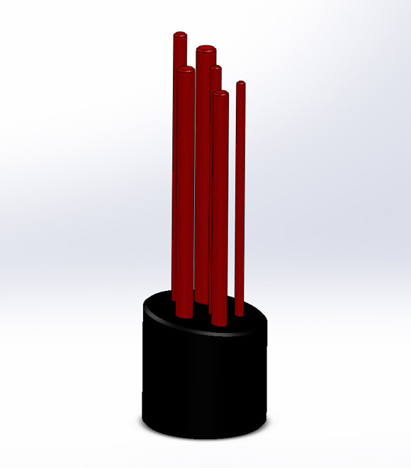 A CAD Model of the PAIFF Award