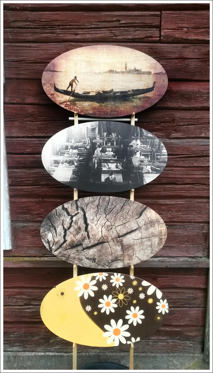 Tsuru-sarja pöydät saavat customoidun pinnan Dialabista.  www.mnwood.fi