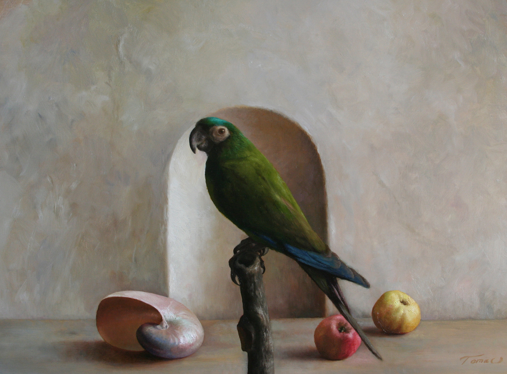 %22Still-life with Parrot%22 (2012) 60 cm x 44 cm.jpg
