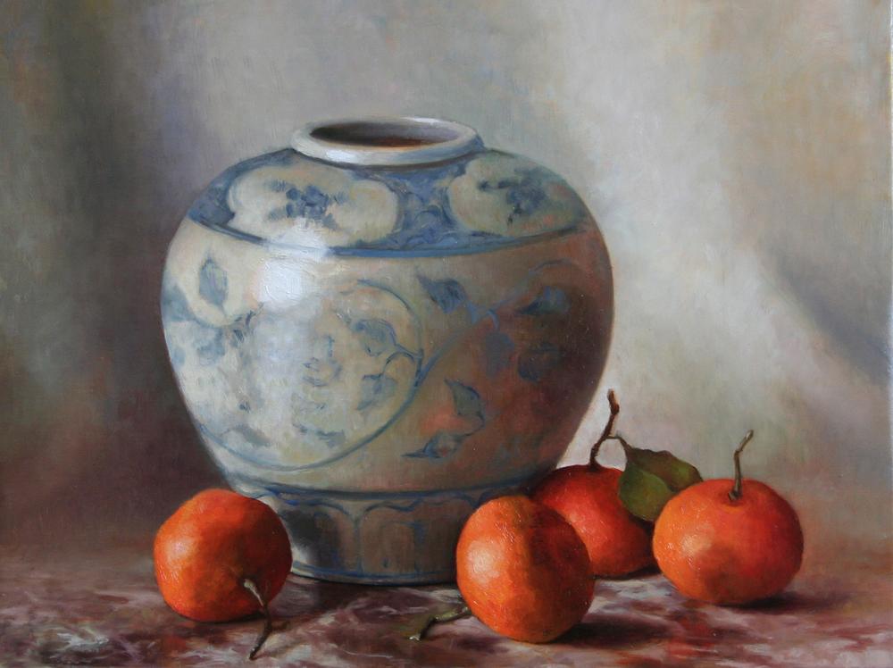 Mandarins (2011) 15%22 x 15%22 Sanna Tomac.jpg