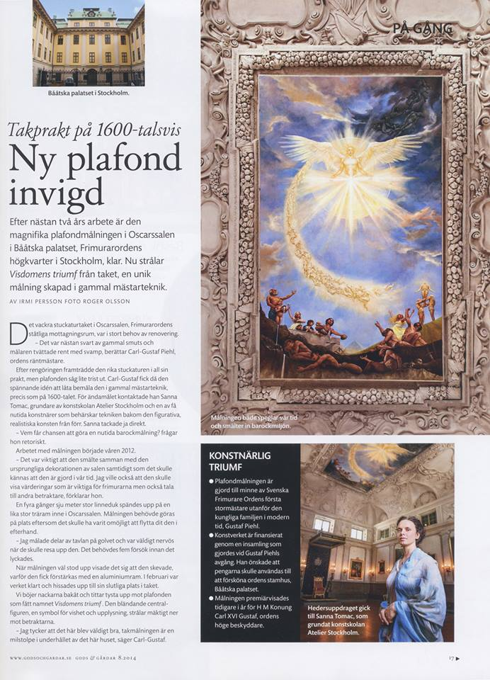 Gods Gårdar Article Sanna Tomac