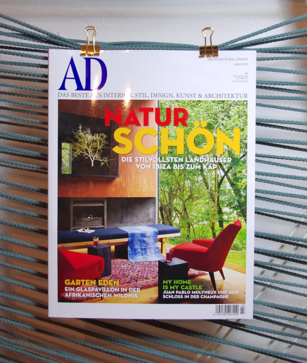 März 2015: Architectural Digest