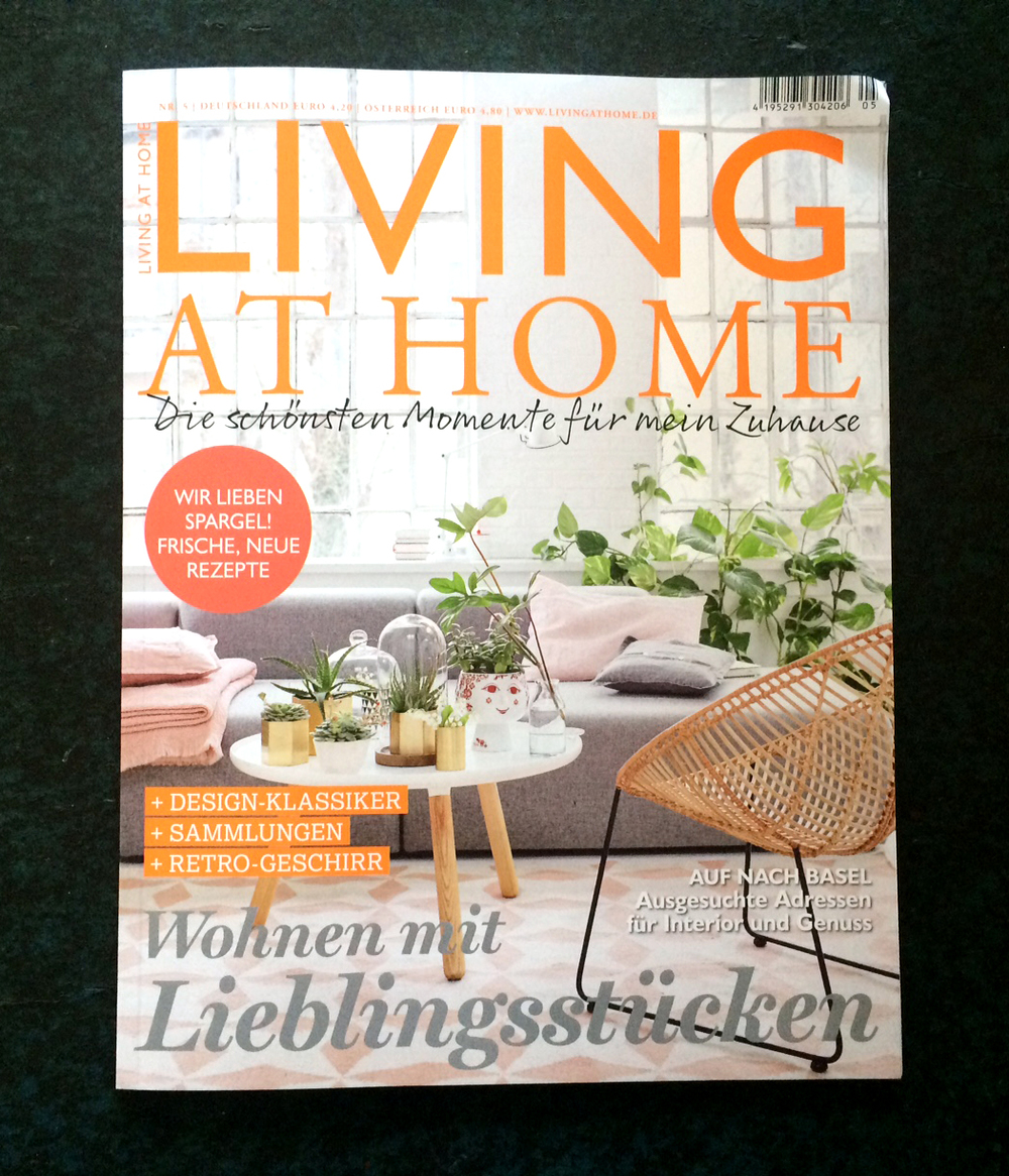 April 2016: Living at home