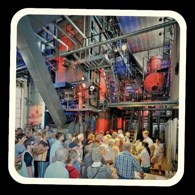 Das Kesselhaus der Brauerei GANTER