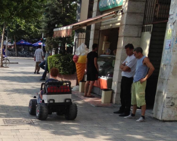 Greetings from Tirana, Albania.