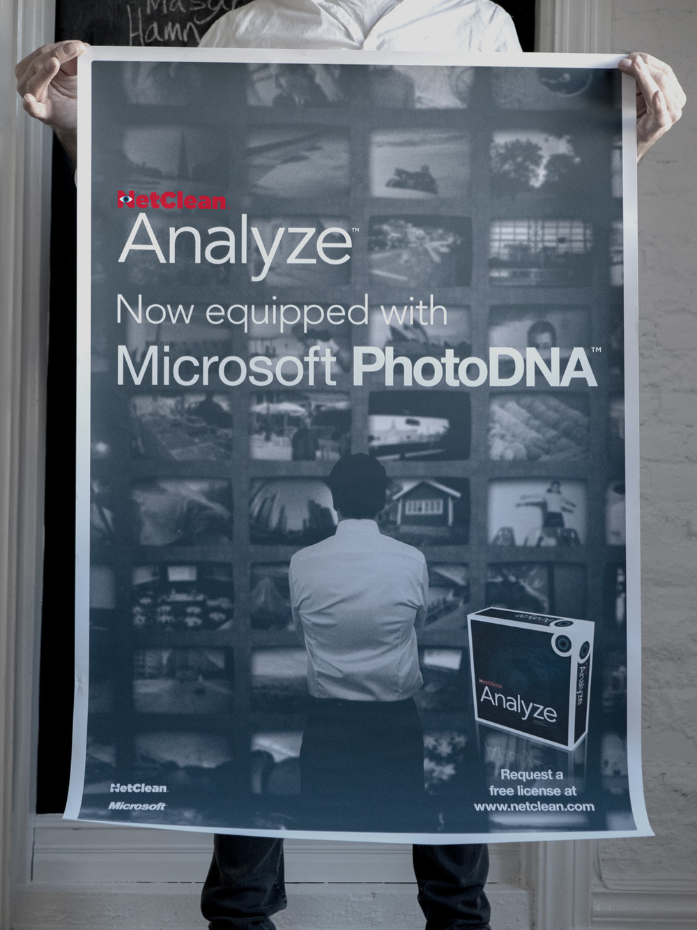 NetClean Analyze poster.