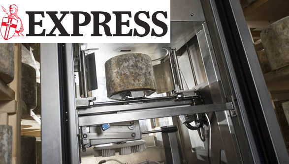 British dairy farm becomes first in the world to employ cheese rotating robot