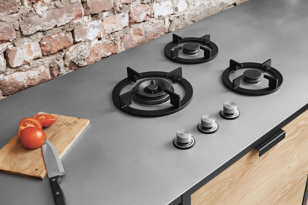 Zum Kochen je nach Gusto: Die Herdmodelle sind wählbar, ob Induktion, Gas oder Teppanyaki.