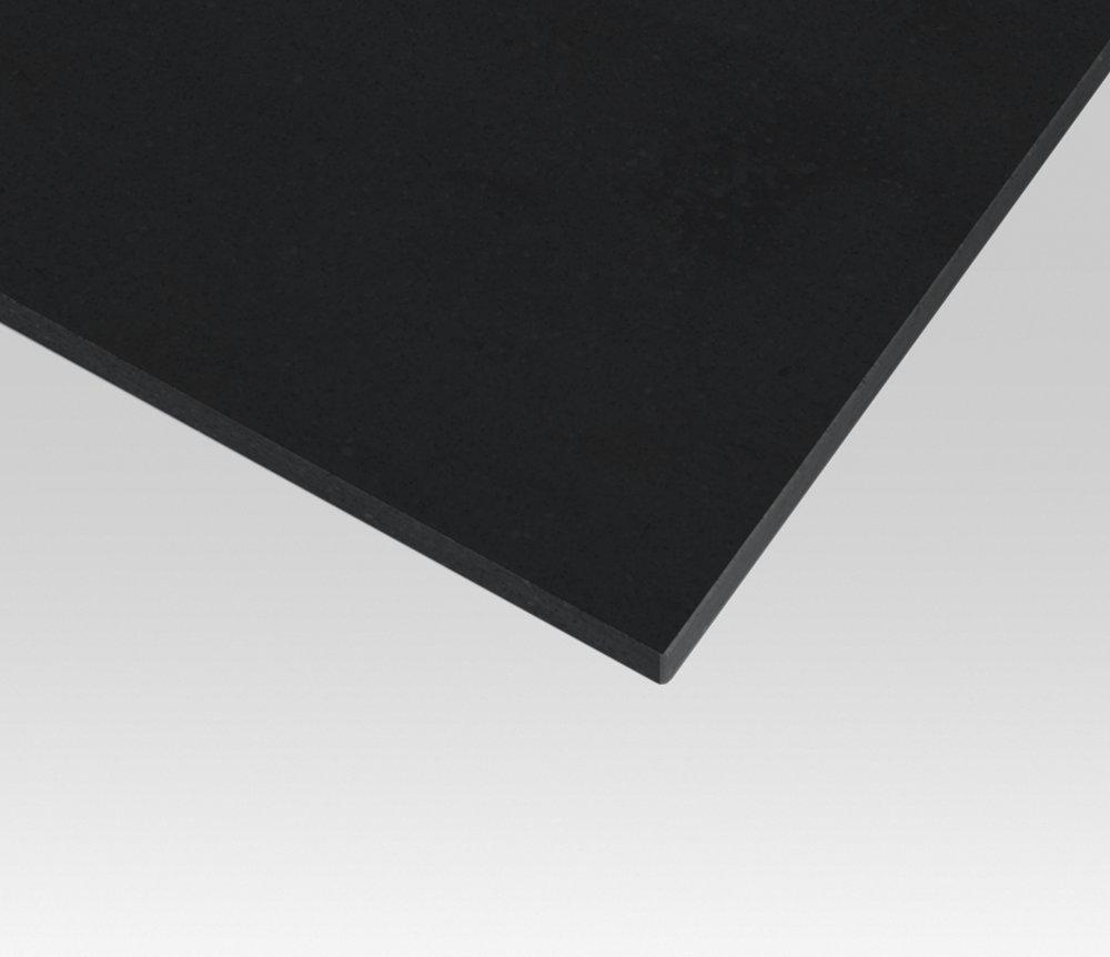 KOHLE schwarze Kompaktplatte Vollkernlaminat / 12 mm
