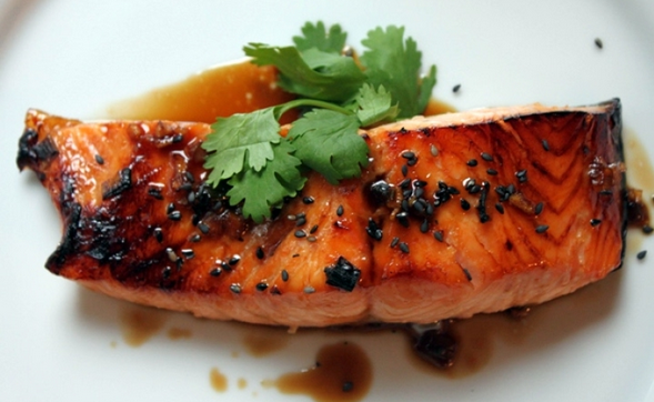 Gingered Wild Salmon