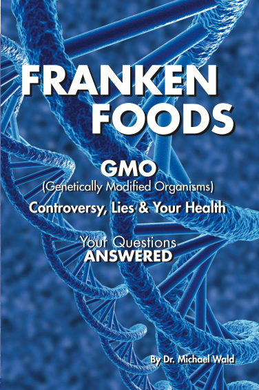 Frankenfoods - Dangers of GMO book cover