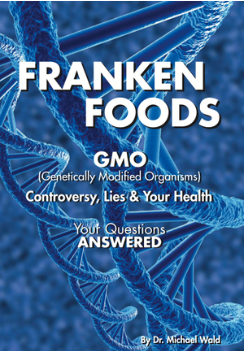 "Dr. Michael Wald, author of  Frankenfoods - Controversy, Lies & Your Health , offers a riveting perspective of the GMO predicament, exploring governmental and industry cover- ups, health dangers, environmental threats, GMO-free food plans and recipes, nutritional supplements and other practical solutions. Dr. Wald declares, "" The GMO dilemma is here to stay. Anyone interested in protecting their health and that of their loved ones, friends and the planet must educate themselves and take political and personal action right now! """