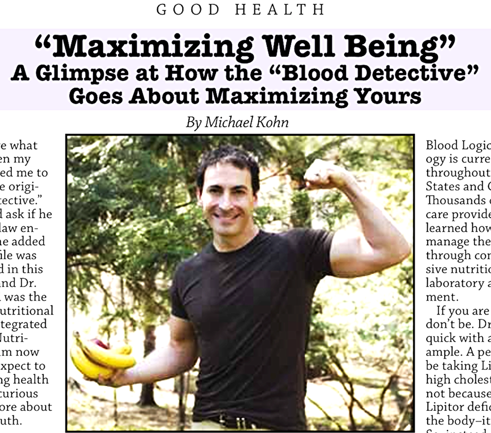 Read more about Dr. Wald and his personal health victory here: http://goo.gl/fol5qN