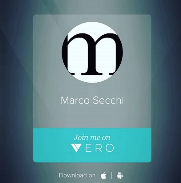 I am on vero as marco secchi