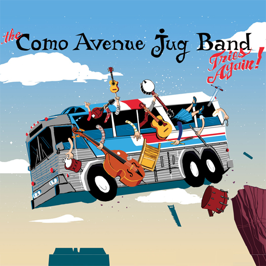 The Como Avenue Jug Band - The Como Avenue Jug Band Tries Again!  (Recording, Mixing)