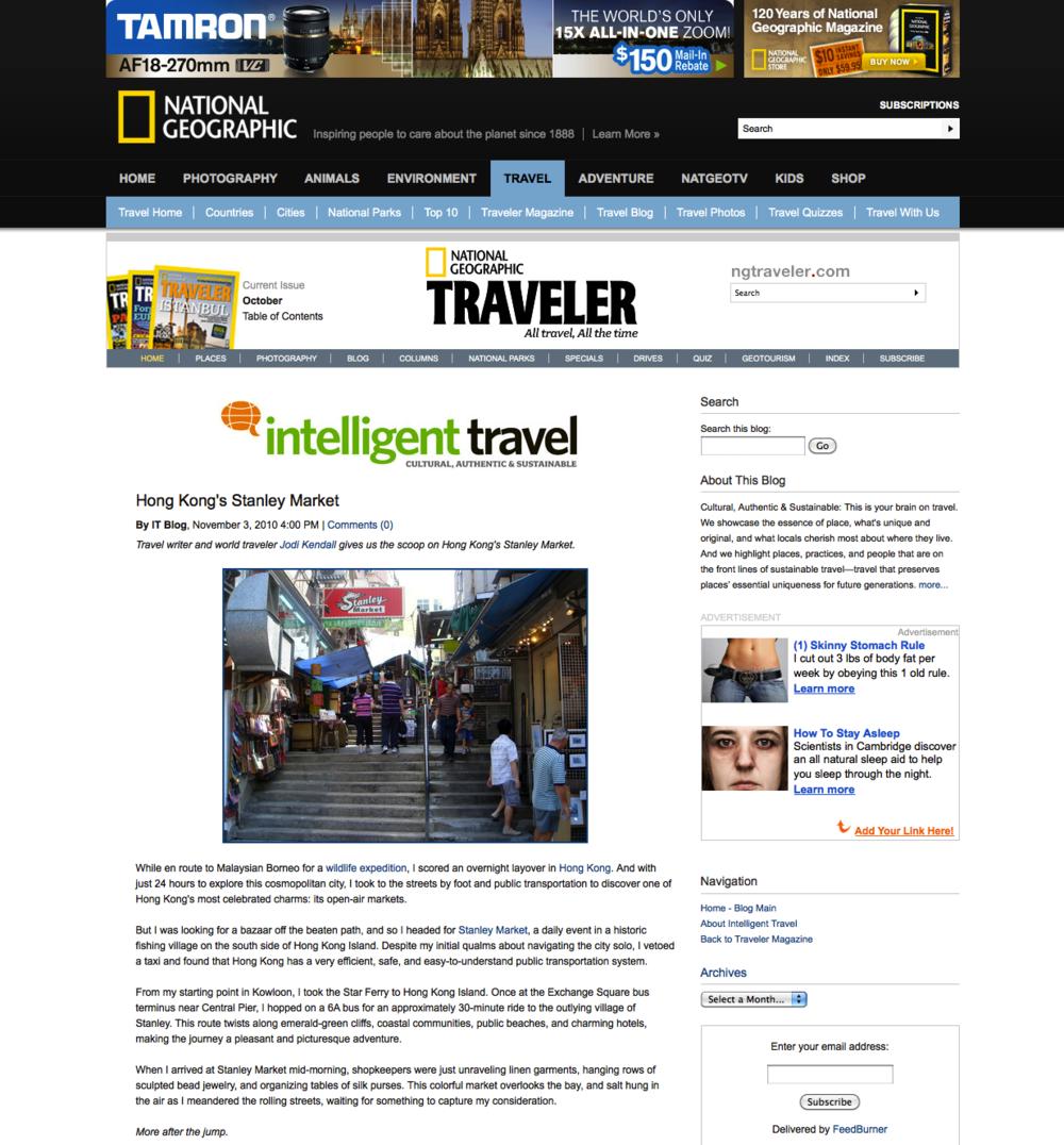 Nat Geo Traveler