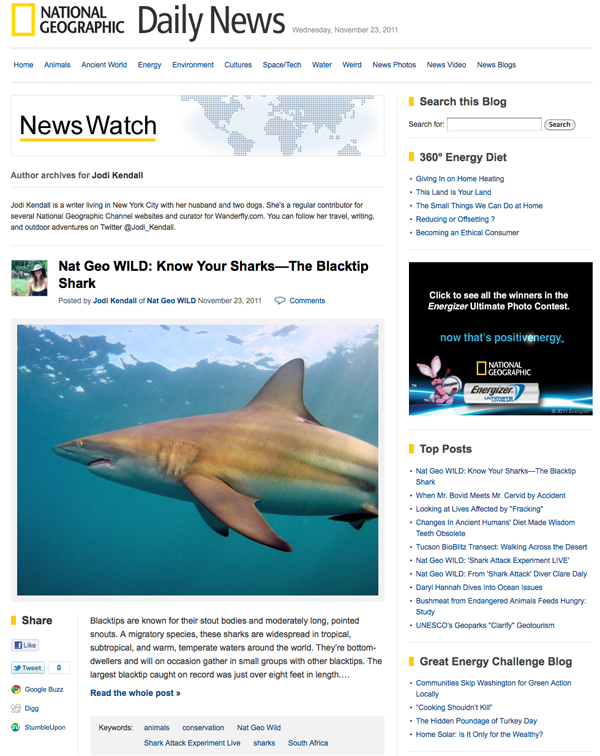 Nat Geo NewsWatch