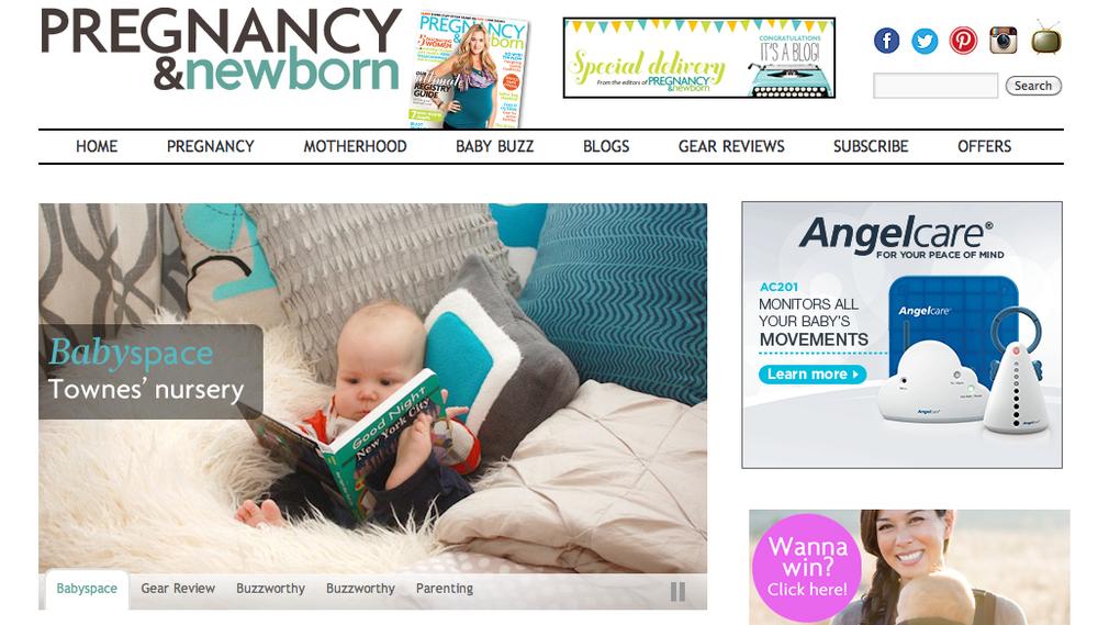 Townes' Nursery – Pregnancy & Newborn Magazine