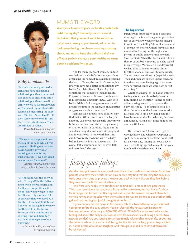 Babe's Anatomy –Pregnancy & Newborn Magazine