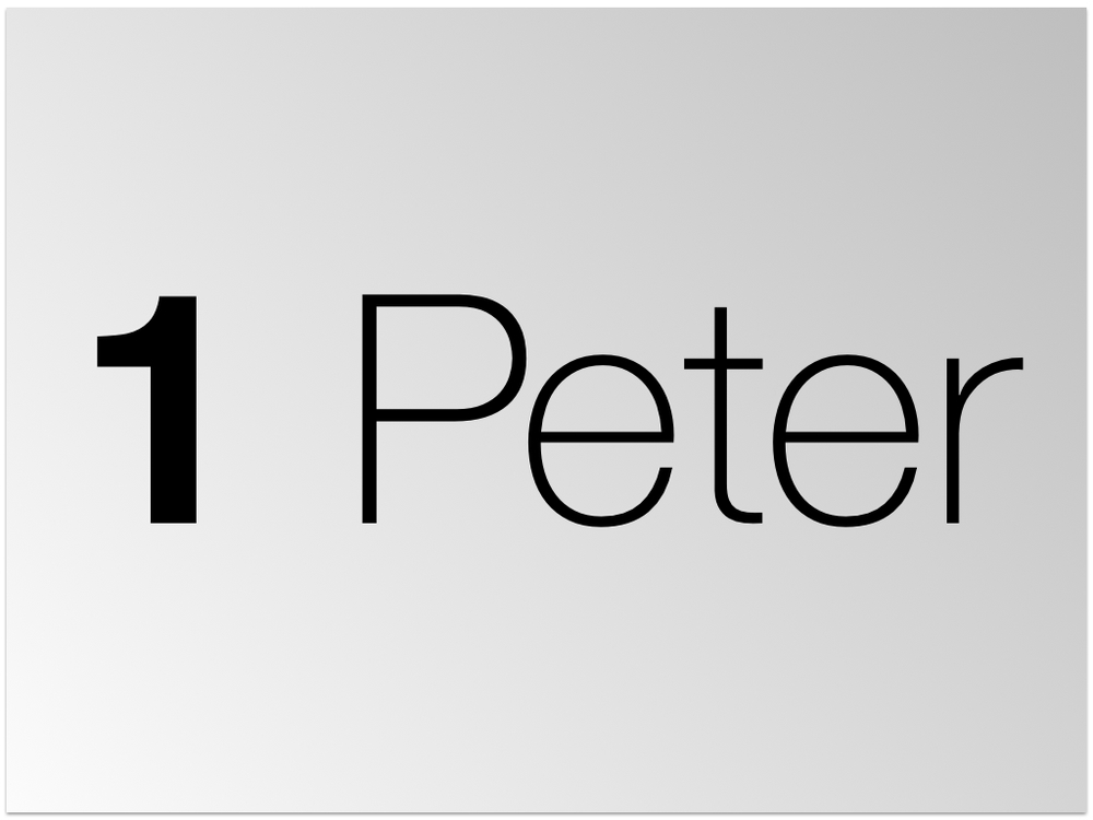1 Peter teaching