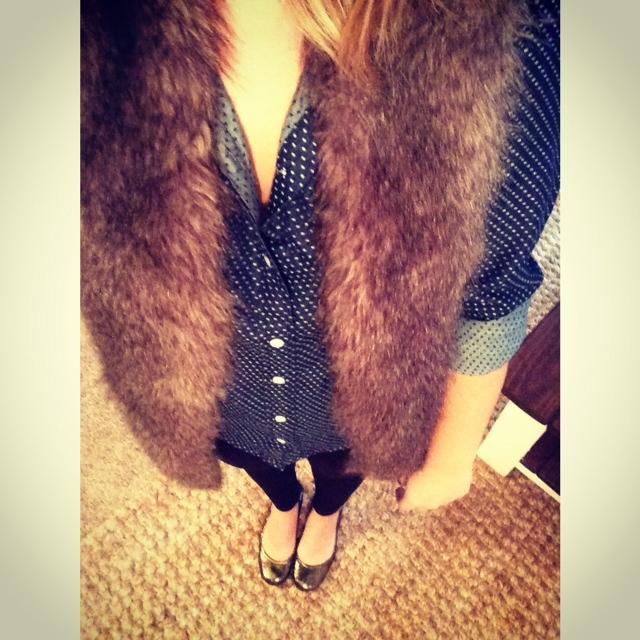 chambray fur
