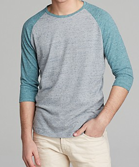 Alternative Willoughby Baseball Tee, Bloomingdales $50