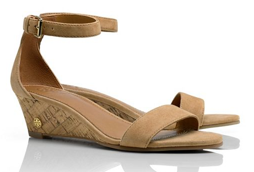 SPLURGE :: Tory Burch Savannah Wedge