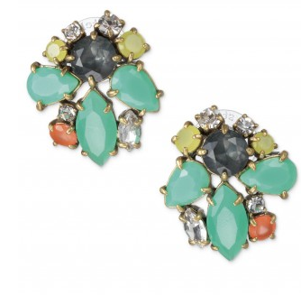 Stella & Dot Naomi Cluster Earrings