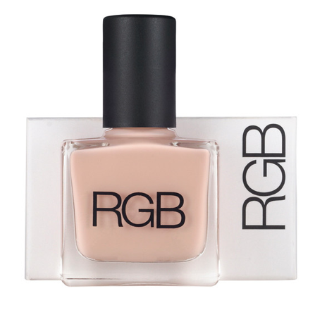 "RGB Polish in ""Doll."" Love this neutral but feminine blush tone!"