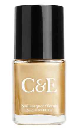 Shine on with some gold! Crabtree & Evelyn Gold Nail Lacquer