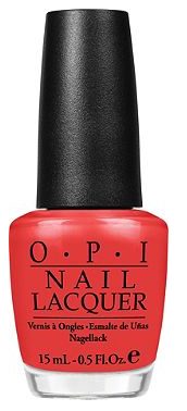 And of course, my favorite Spring go-to polish :: OPI Cajun Shrimp