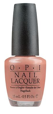 "Last but not least, a neutral yet delicious blush-toned color, for those of you who like to keep it simple! OPI ""Suzi sells sushi by the seashore"""