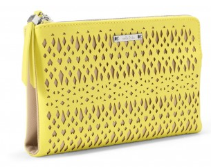 Stella & Dot Citrine Yellow Clutch, $89