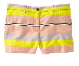 These GAP Sunkissed multi-stripe shorts offer a preppier look.