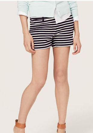 Classic and chic stripe, from LOFT