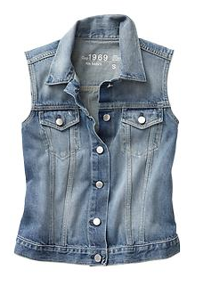 1969 Denim Vest, GAP